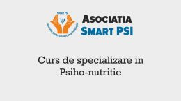 curs psiho nutritie